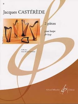 Jacques Castérède - 2 Pieces - Harp - Sheet Music - di-arezzo.co.uk