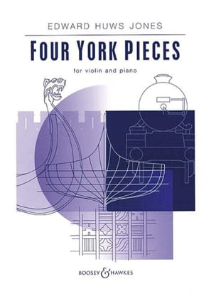 Jones Huws - 4 York Pieces - Partition - di-arezzo.fr