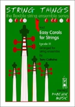 Easy Carols for Strings Terry Cathrine Partition laflutedepan