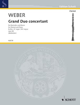 Grand duo concertant op. 48 - Carl Maria von Weber - laflutedepan.be