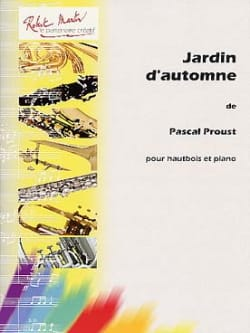 Jardin d'automne - Pascal Proust - Partition - laflutedepan.com