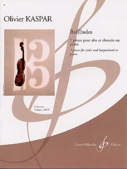 Olivier Kaspar - Ballades - Partition - di-arezzo.fr