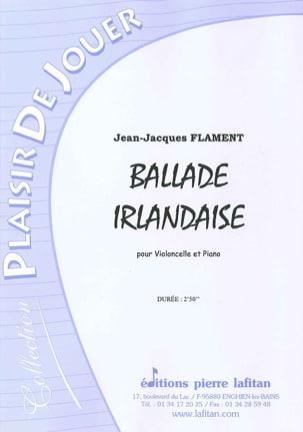Ballade Irlandaise Jean-Jacques Flament Partition laflutedepan