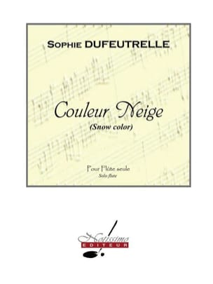 Sophie Dufeutrelle - Color Snow - Sheet Music - di-arezzo.co.uk
