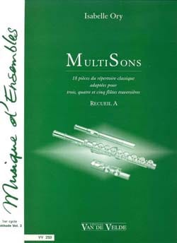 Isabelle Ory - MultiSons - Collection A - Sheet Music - di-arezzo.com