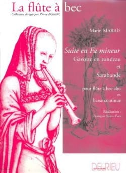 Marin Marais - Suite in F minor - Sheet Music - di-arezzo.com