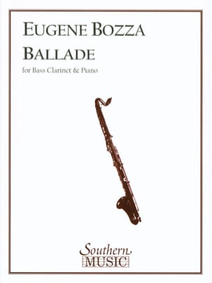 Eugène Bozza - Ballad - Sheet Music - di-arezzo.co.uk