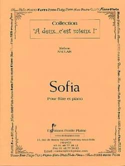Jérôme Naulais - Sofia - Partition - di-arezzo.fr