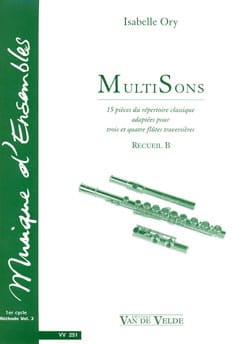 Isabelle Ory - MultiSons - Collection B - Sheet Music - di-arezzo.com