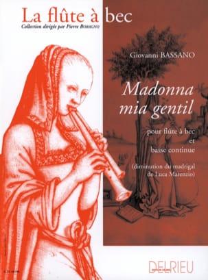 Giovanni Bassano - Madonna mia nice - Sheet Music - di-arezzo.com