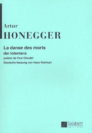 La Danse des Morts - Conducteur - Arthur Honegger - laflutedepan.com