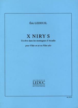 Eric Ledeuil - X Niry S - Partitura - di-arezzo.es