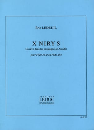 Eric Ledeuil - X Niry S - Partition - di-arezzo.fr