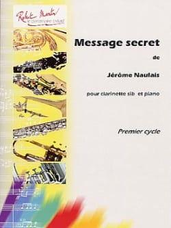 Message secret - Jérôme Naulais - Partition - laflutedepan.com