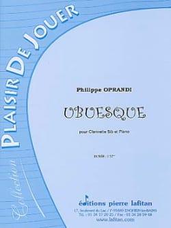 Philippe Oprandi - Ubuesque - Partition - di-arezzo.fr