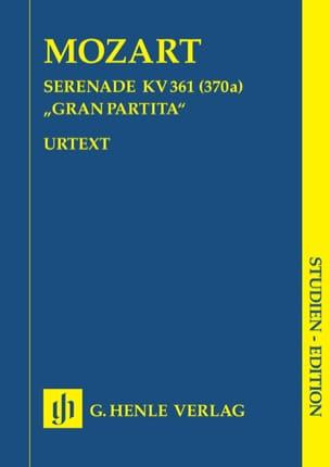 MOZART - Serenade B-Dur KV 361 Gran Partita - Partitur - Sheet Music - di-arezzo.co.uk