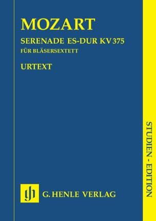 Serenade Es-Dur KV 375 (Sextett) –Partitur - laflutedepan.com