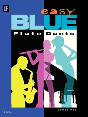 Easy Blue Flute Duets - James Rae - Partition - laflutedepan.com