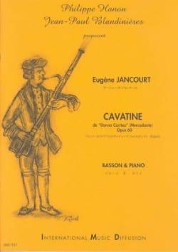 Cavatine - Eugène Jancourt - Partition - Basson - laflutedepan.com