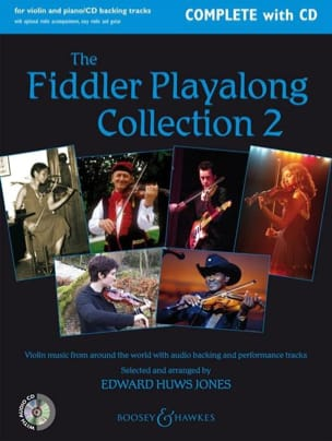 Jones Edward Huws - The Fiddler Playalong Violin Collection 2 - Sheet Music - di-arezzo.com