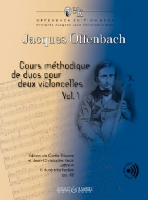 Jacques Offenbach - Methodical course of duets op. 49 - Volume 1 - Partition - di-arezzo.com