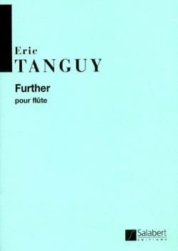 Eric Tanguy - Further - Partition - di-arezzo.fr