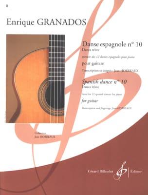 Enrique Granados - Danse espagnole n° 10 - Partition - di-arezzo.fr