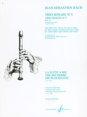 Trio Sonate N° 5 BWV 529 - flûte à bec alto - BACH - laflutedepan.com
