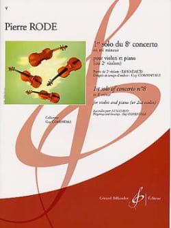 Pierre Rode - 1st Solo of Concerto No. 8 in E minor - Sheet Music - di-arezzo.com