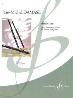 Jean-Michel Damase - Automne - Partition - di-arezzo.fr