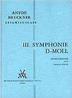 Anton Bruckner - Symphony Nr. 3 d-moll 1889 - Vol 3 Headmasterpartitur - Sheet Music - di-arezzo.co.uk