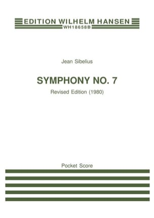 Symphonie n° 7 op. 105 - Partitur SIBELIUS Partition laflutedepan