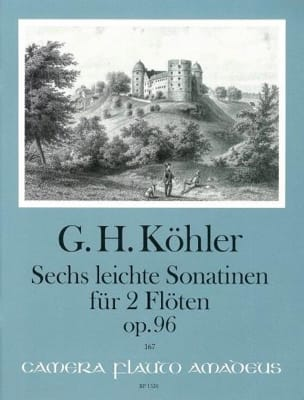 6 Leichte Sonatinen op. 96 für 2 Flöten - laflutedepan.com