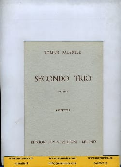 Roman Palester - Secondo Trio per archi - Partitura - Sheet Music - di-arezzo.co.uk
