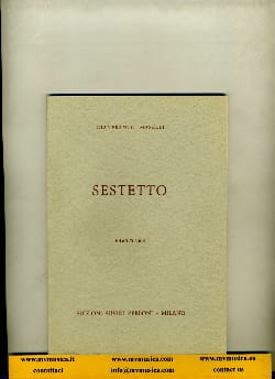 Gianfranco Maselli - Sestetto - Partitura - Sheet Music - di-arezzo.co.uk