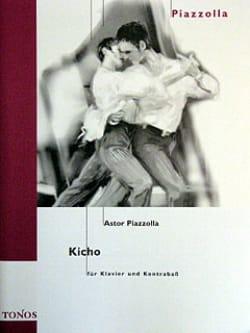 Astor Piazzolla - Kicho - Partition - di-arezzo.fr