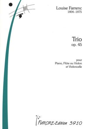 Louise Farrenc - Trio Op. 45 - Partition - di-arezzo.fr