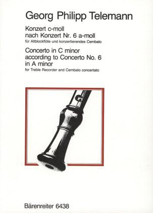 Concerto c-moll –Altblockflöte - laflutedepan.com