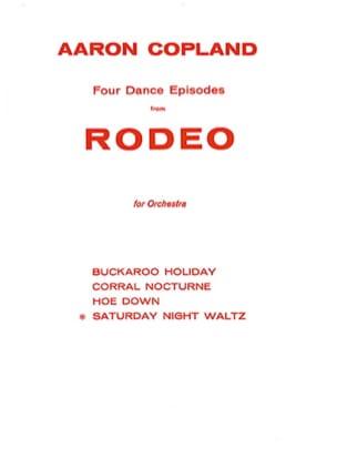Aaron Copland - Saturday night waltz - Partition - di-arezzo.co.uk