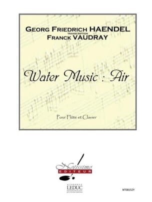 Georg Friedrich Haendel - Water Music : Air – Flûte piano - Partition - di-arezzo.fr
