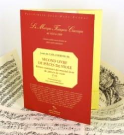 d'Hervelois Louis de Caix - Second livre de pièces de viole – Fac similé - Partition - di-arezzo.fr