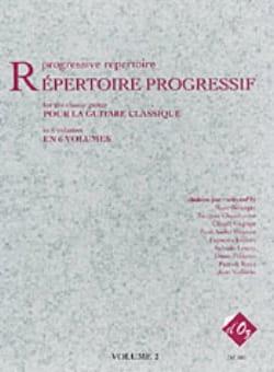Répertoire Progressif Volume 2 Partition Guitare - laflutedepan