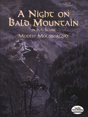 Modeste Moussorgski - Night on the Bare Mountain - Full Score - Partition - di-arezzo.fr