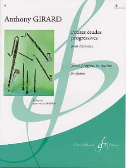 Petites études progressives - Volume 4 Anthony Girard laflutedepan