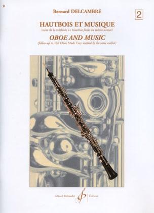 Bernard Delcambre - Hautbois et musique - Volume 2 - Partition - di-arezzo.fr