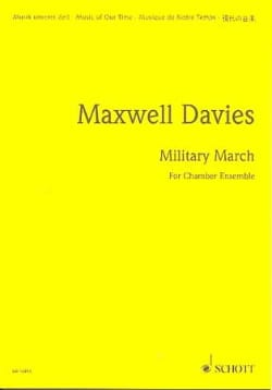 Military march Davies Peter Maxwell Partition laflutedepan