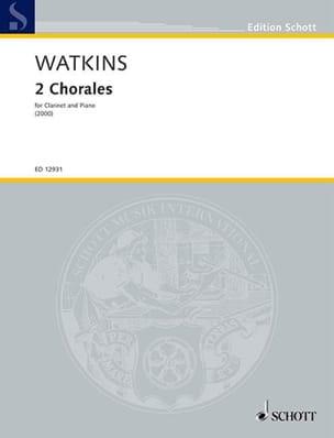 Two Chorales - Huw Watkins - Partition - Clarinette - laflutedepan.com