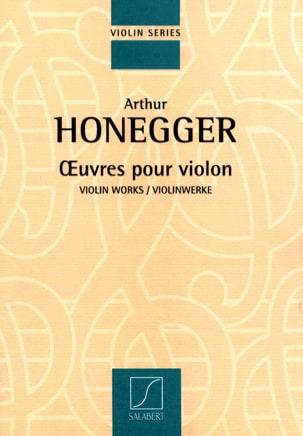 Oeuvres pour violon HONEGGER Partition Violon - laflutedepan