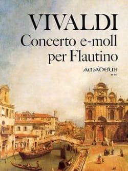 Antonio Vivaldi - Concerto e-moll per flautino - Partition - di-arezzo.fr