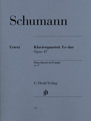 SCHUMANN - Piano quartet in E flat major op. 47 - Sheet Music - di-arezzo.com